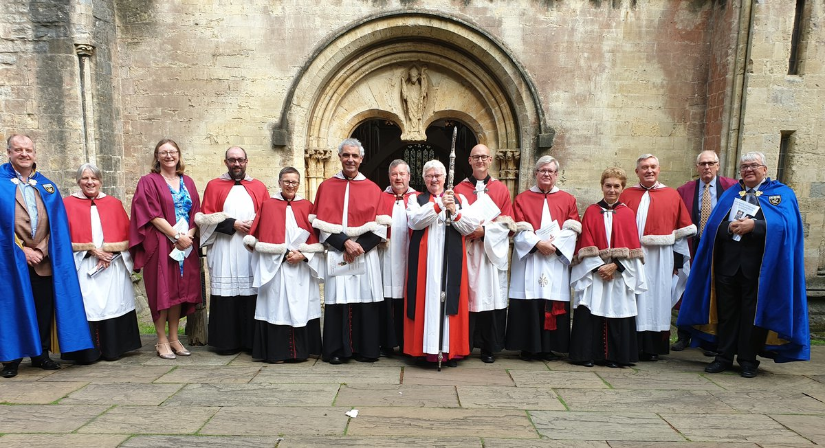 Llandaff Cathedral Chapter at Rod Green's licensing