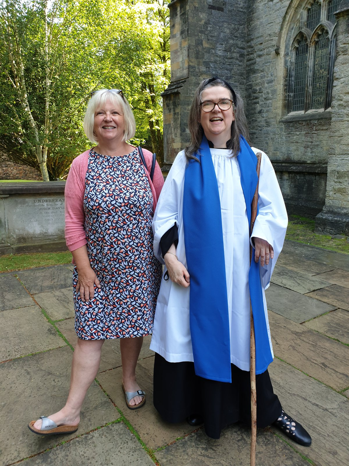 Eleanor Williams and Julie Davies