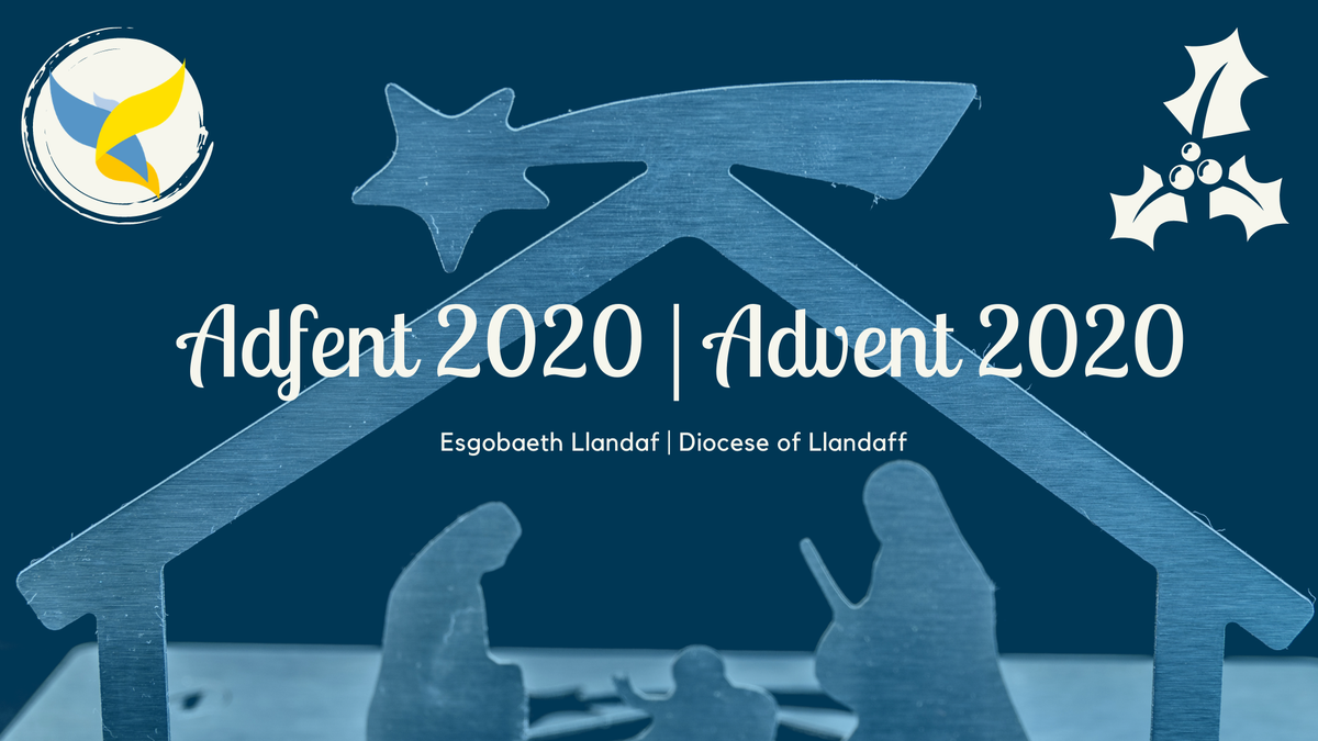 Picture promoting Advent at the Diocese of Llandaff