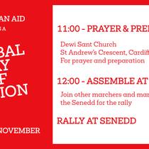 Christian Aid Climate Change Rally