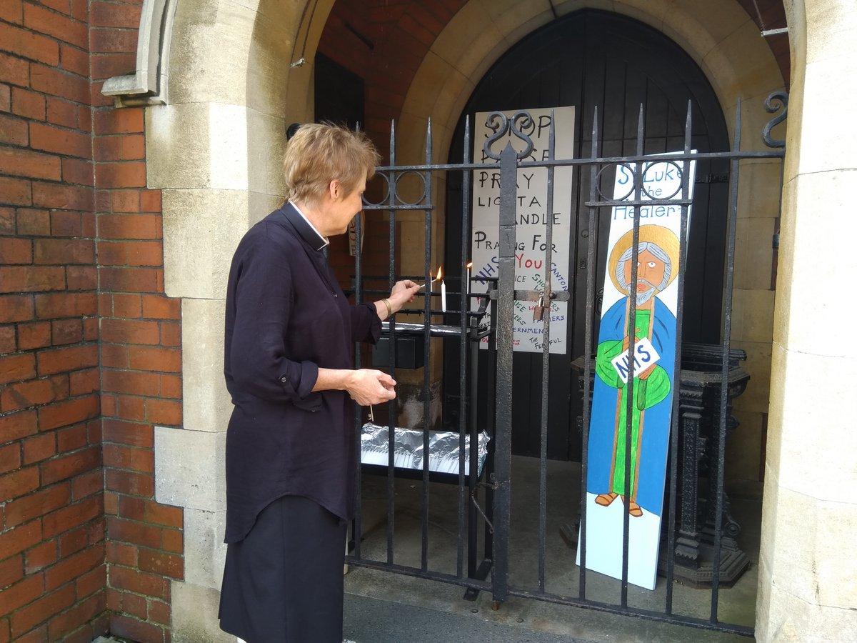 Frances Wilson Canton NHS Shrine