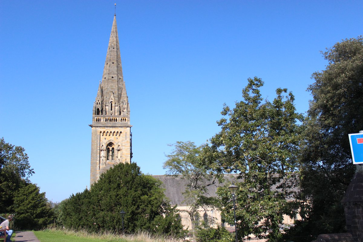 Spire of Llandaff Cathedrall