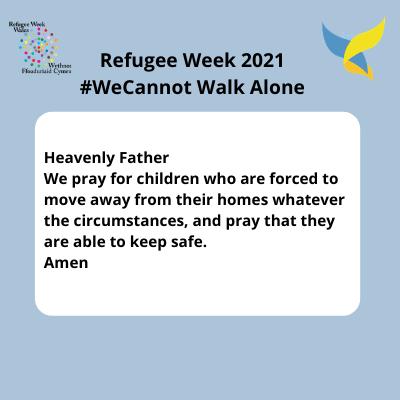 Refugee Week prayer for schools