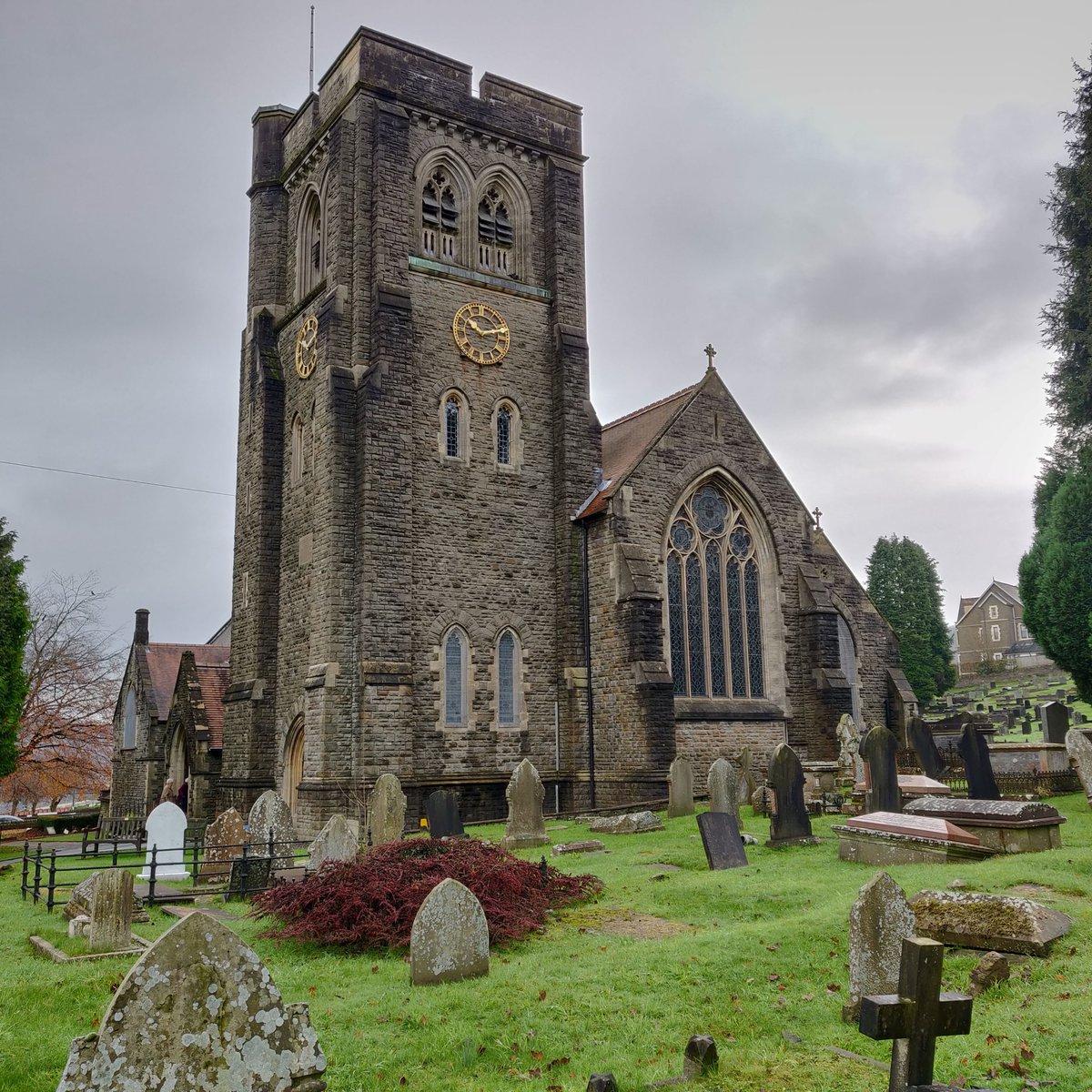 St Martin's Caerphilly. church