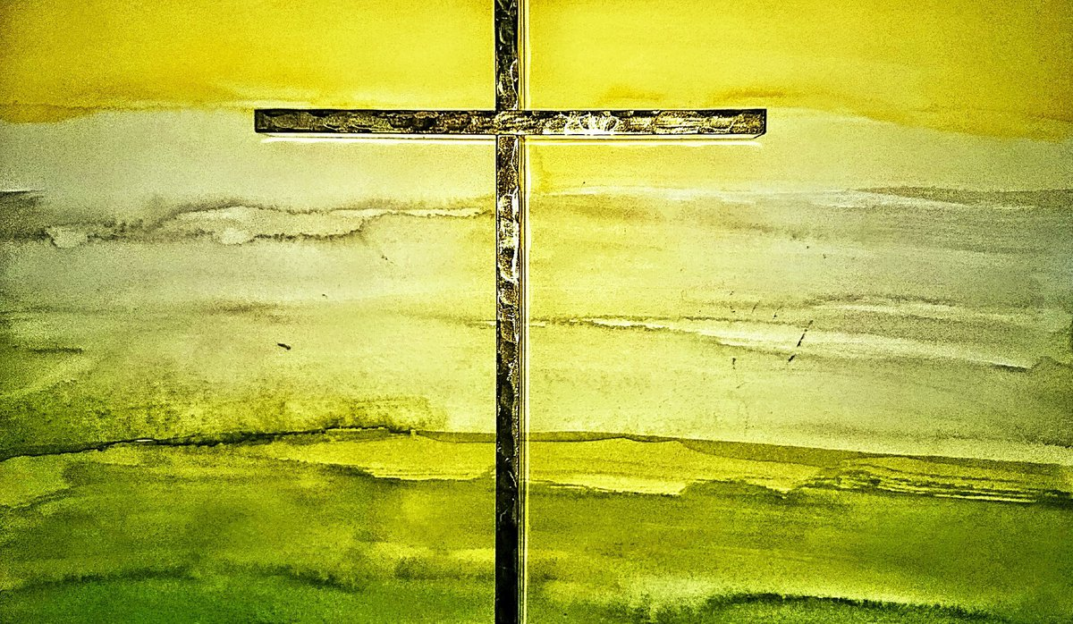 Abstract art Cross