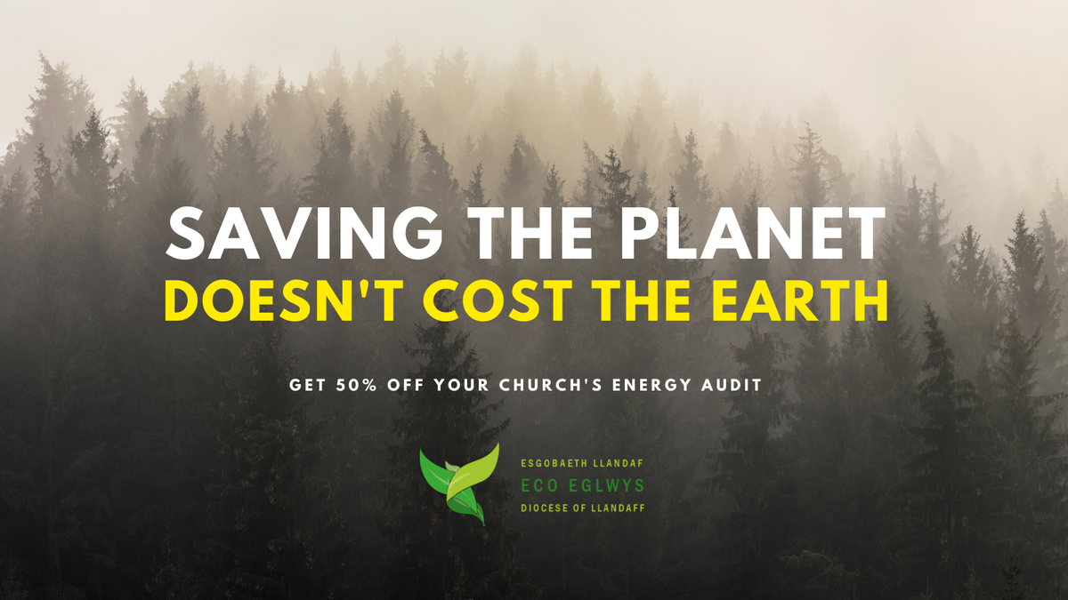 Saving the planet doesn't cost the earth. Get 50% off your church's energy audit.